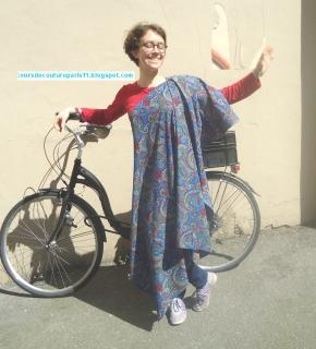 Robe burda «Eternité robe 119» Juillet2012