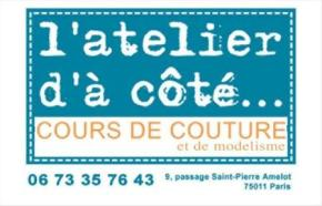 Stage de couture & modélisme à partir du 5 août2013.